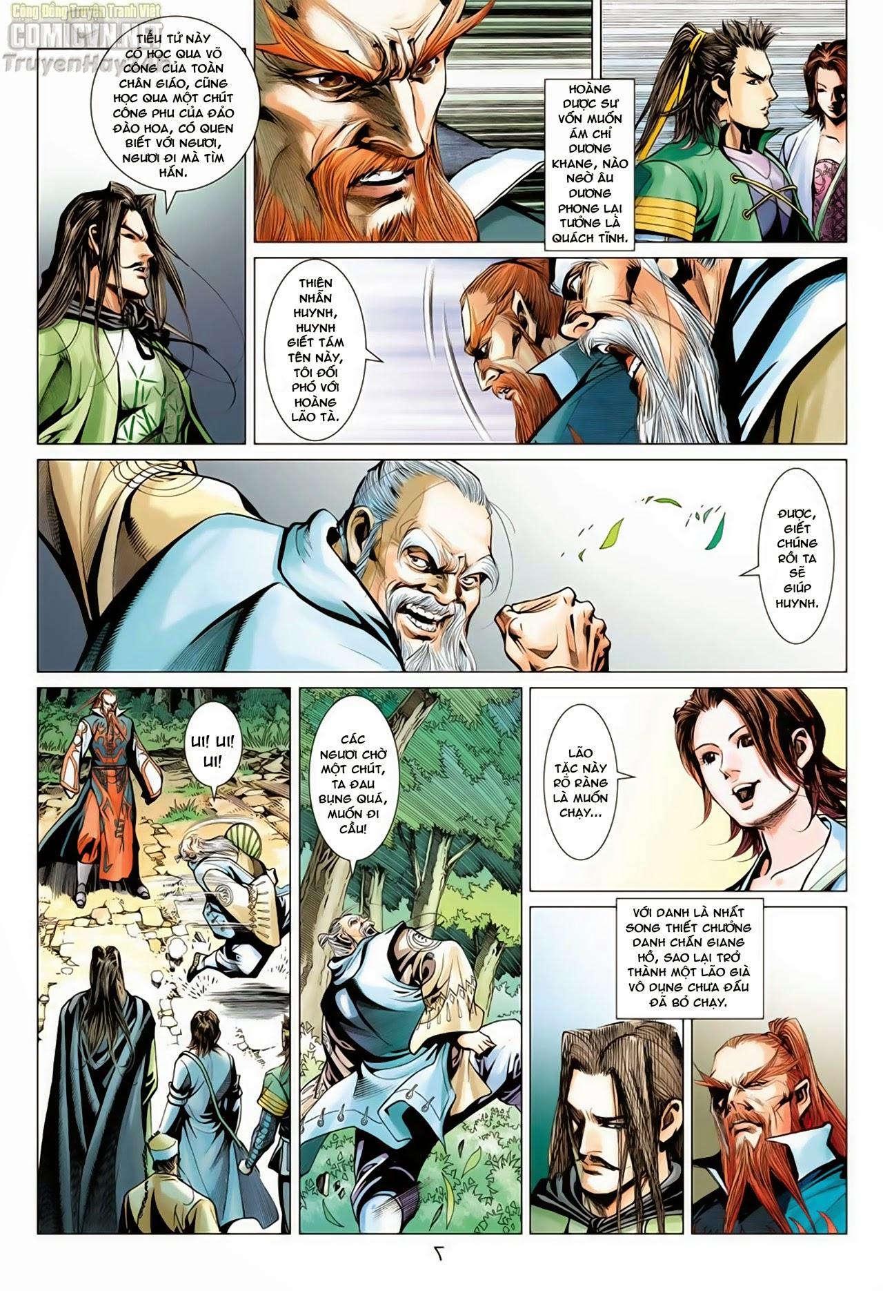 Anh Hùng Xạ Điêu anh hùng xạ đêu chap 65: cái bang tân chủ trang 7