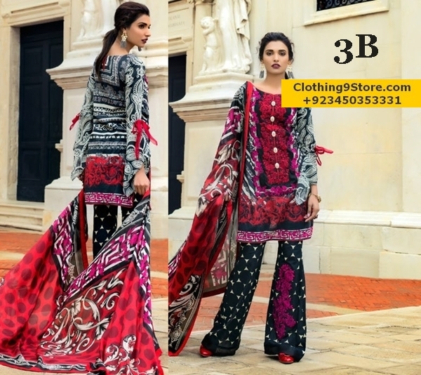 Zainab Chottani Luxury Lawn 2017-18 Catalog