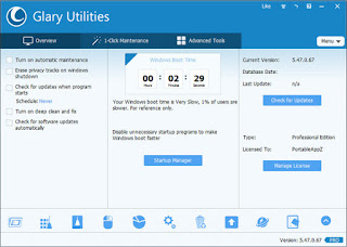 Glary Utilities PRO 5.87 Full Serial