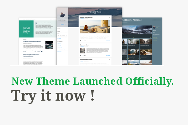 20 New Free Pro Themes Launched in Blogger Officially 2017