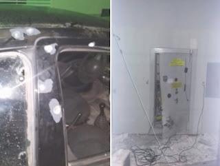 Bandidos explodem Banco do Brasil em Cuité e tocam terror durante a madrugada