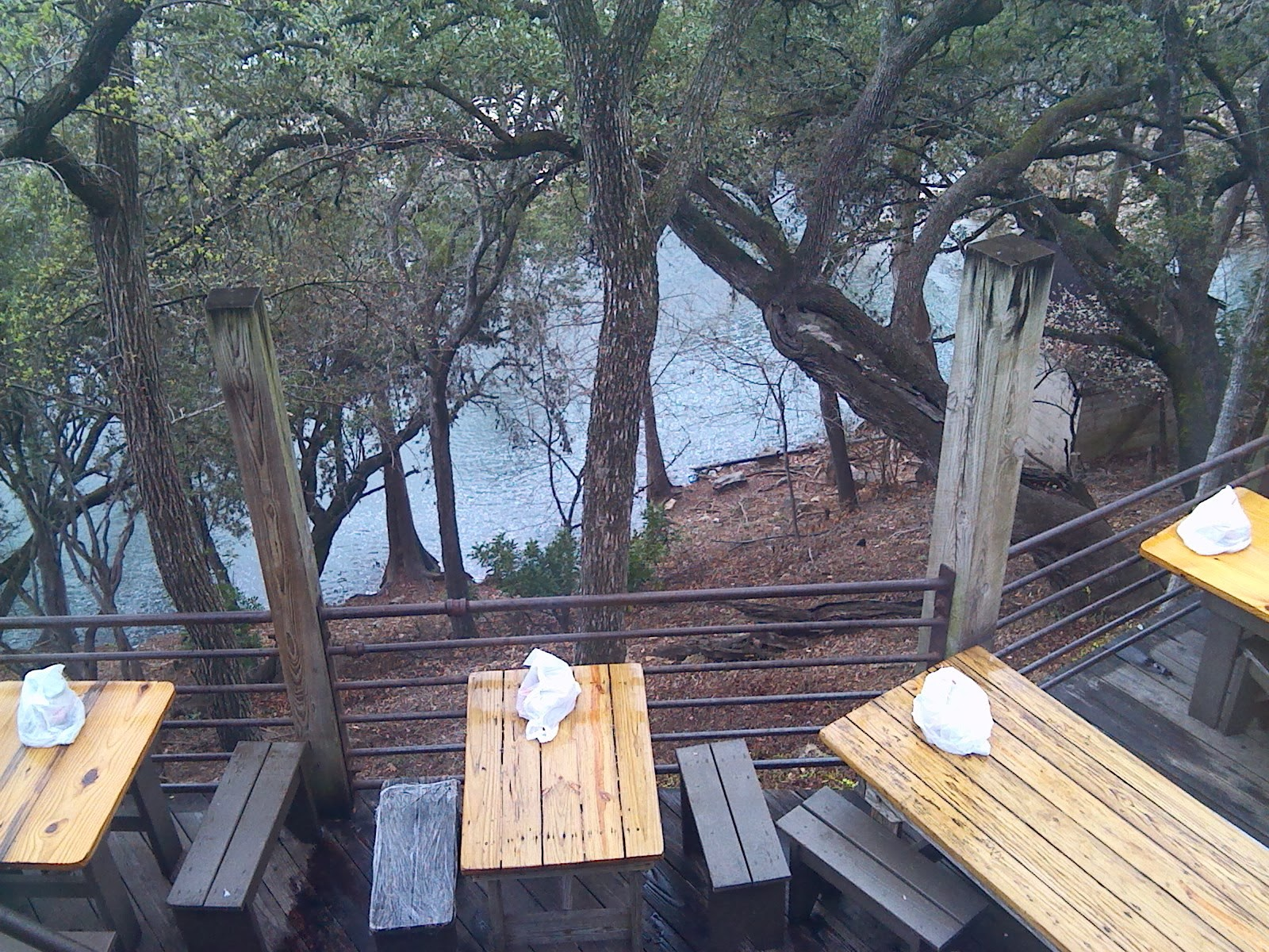 Texas Thru My Back Door The Gristmill River Restaurant Amp Bar