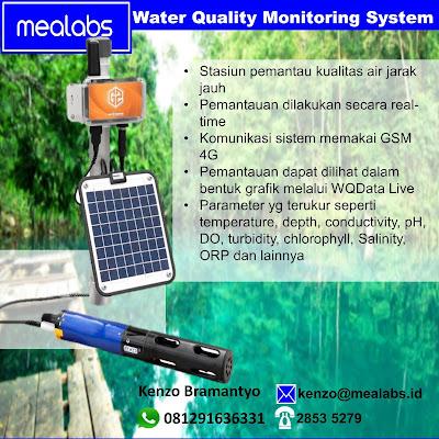 Pemantauan dan Perekaman Kualitas Air