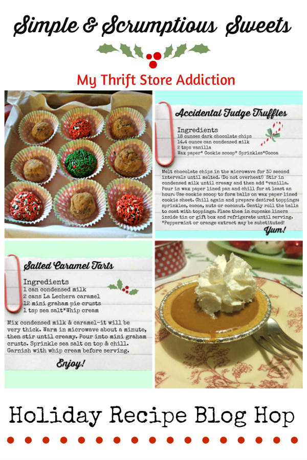 no bake simple and scrumptious holiday sweets