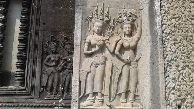 relieves de Apsaras