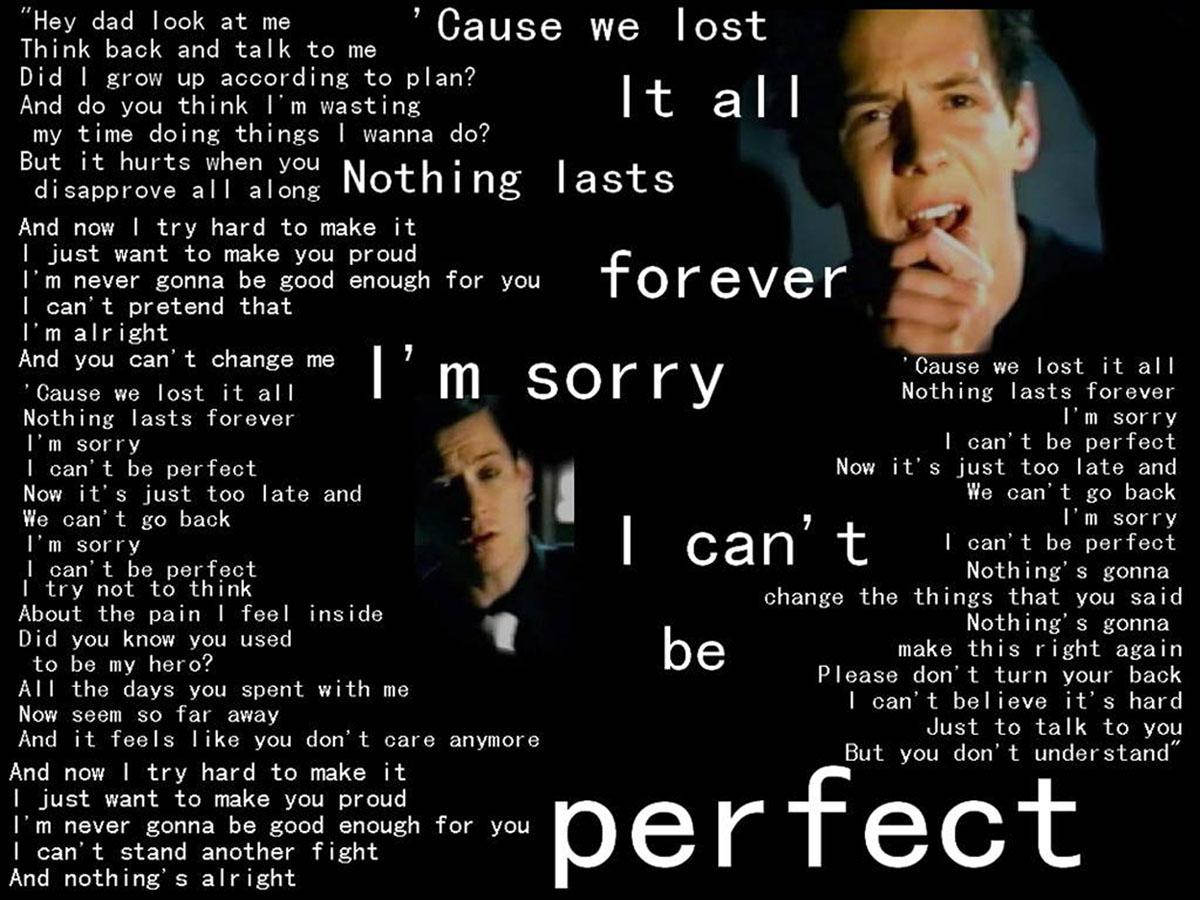 uCok_SibuRnunG: Lirik Lagu Simple Plan_Perfect