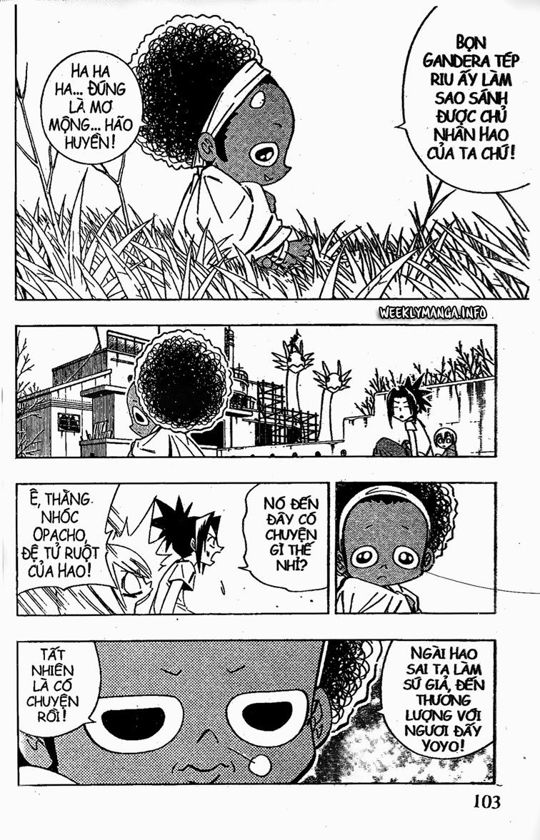 Shaman King [Vua pháp thuật] chap 208 trang 17