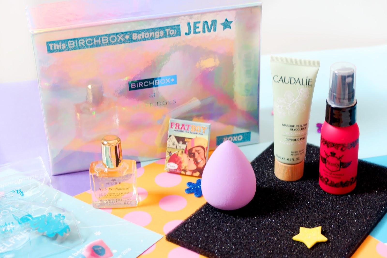 An image of a Personalised Build Your Own Birchbox at Selfridges