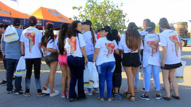 Kärcher junto a Aldeas infantiles S.O.S Argentina en el Rally Dakar en Córdoba