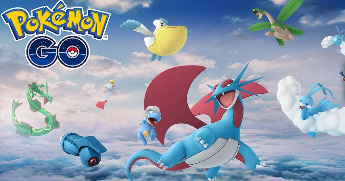 Pokemon GO: Prepare for Hoenn Region Event