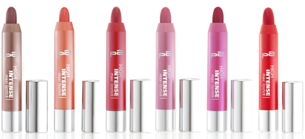 p2 high intense maxi lipsticks