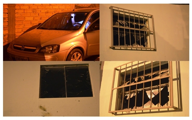 Fogos atingem carro e imóveis durante show no São João de Jussiape