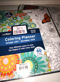 Planahead Life is Colorful Coloring Planner Review - Ramblings Thoughts lets you know why this planner is the IT planner of 2018
