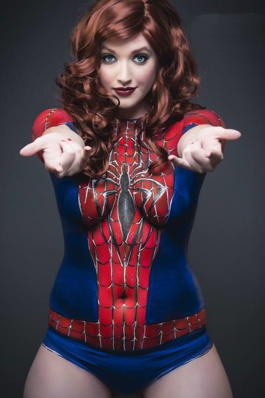 Hope, it's sexy spider man cosplay