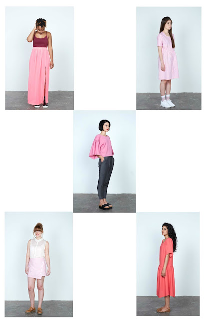 5 garment designs based on rectangles (from 'No Patterns Needed' by Rosie Martin)