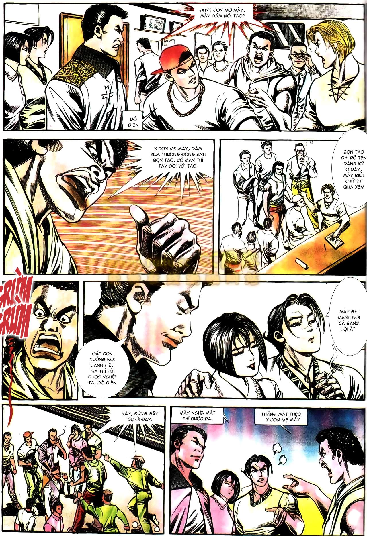 Người Trong Giang Hồ chapter 165: phong thái ngưu cô trang 21