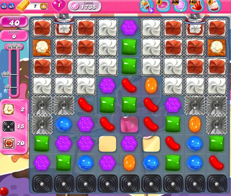 Candy Crush Saga 1735