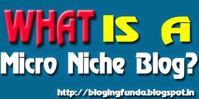 How to find a Micro Niche Blog by BloggingFunda