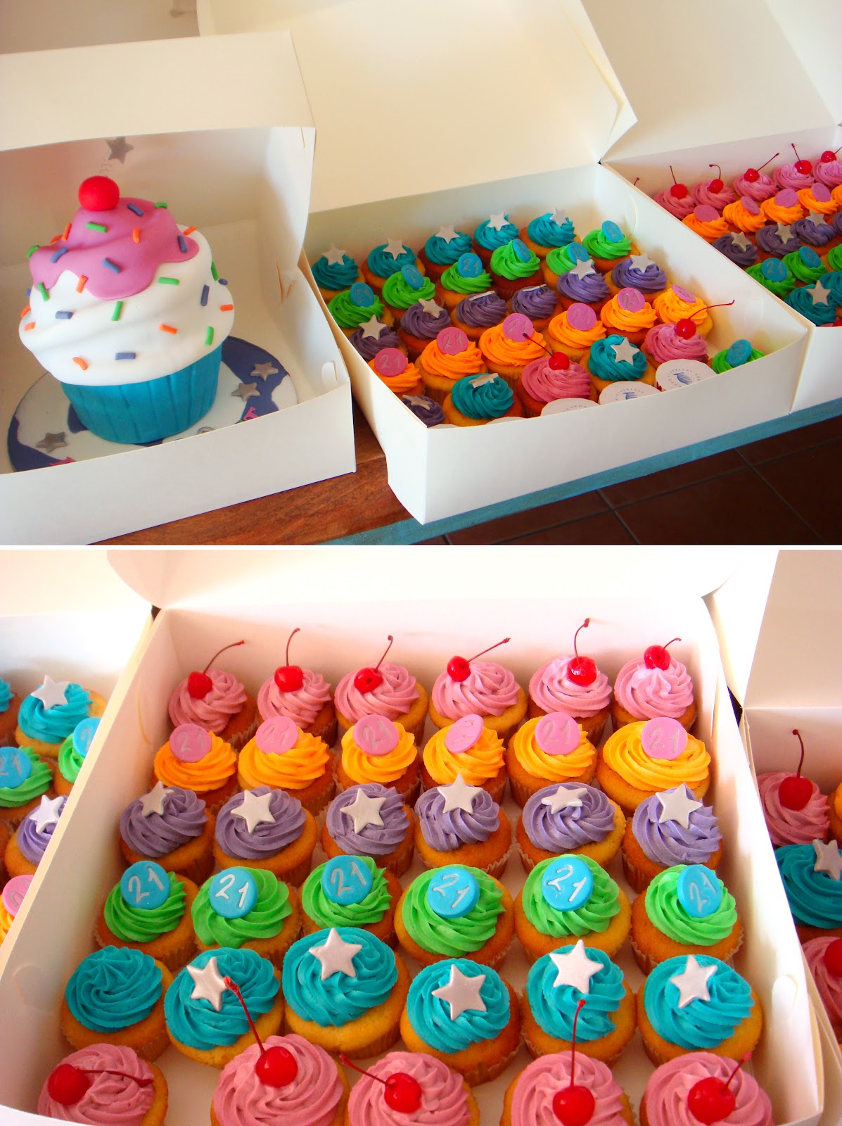 Cupcake Birthday Cakes Pinterest