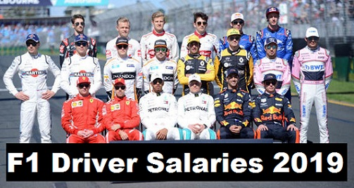 Hamilton, Vettel on Top List of  Formula 1 richest driver Salaries, earning 2019