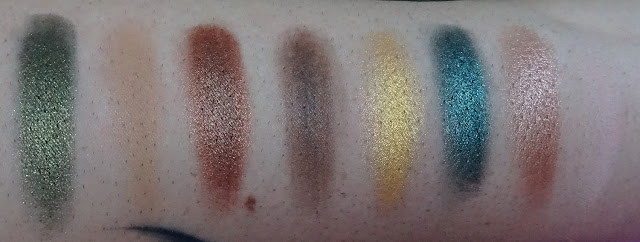 Swatches Mint Chocolate I heart Makeup