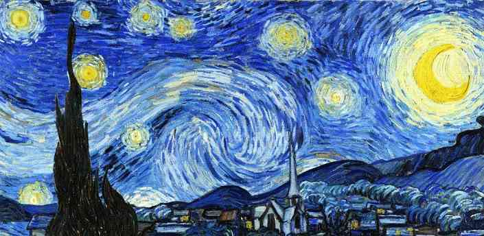 """A"" stands for class: ""A""rt Corner: The Starry Night ..."