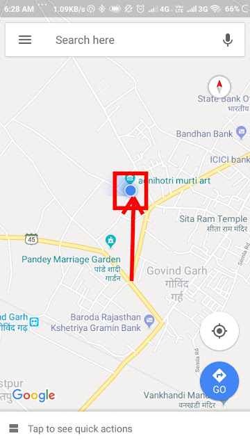 map location sharing
