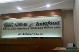 Lowongan Kerja Terbaru PT Nestle Indofood Citarasa Indonesia 2018