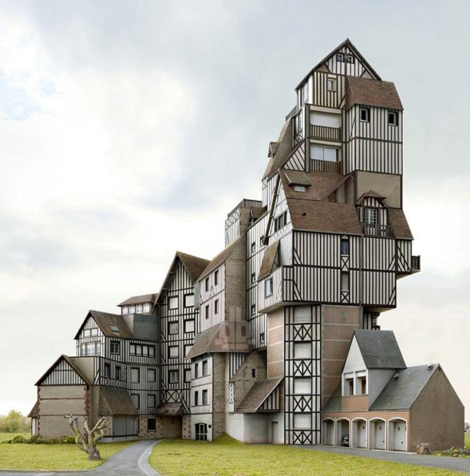 WEIRD NEWS: Amazing And Strange Houses Designs Using Photo