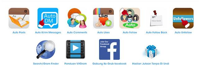 VITGram Tools instagram automatis