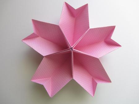 Origami-Instructions.com: Easy Kusudama Cherry Blossom - photo#10