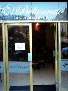 Bar do Gran Hotel Bolivar, em Lima