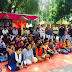 Lucknow University students staging Dharna against administrative apathy