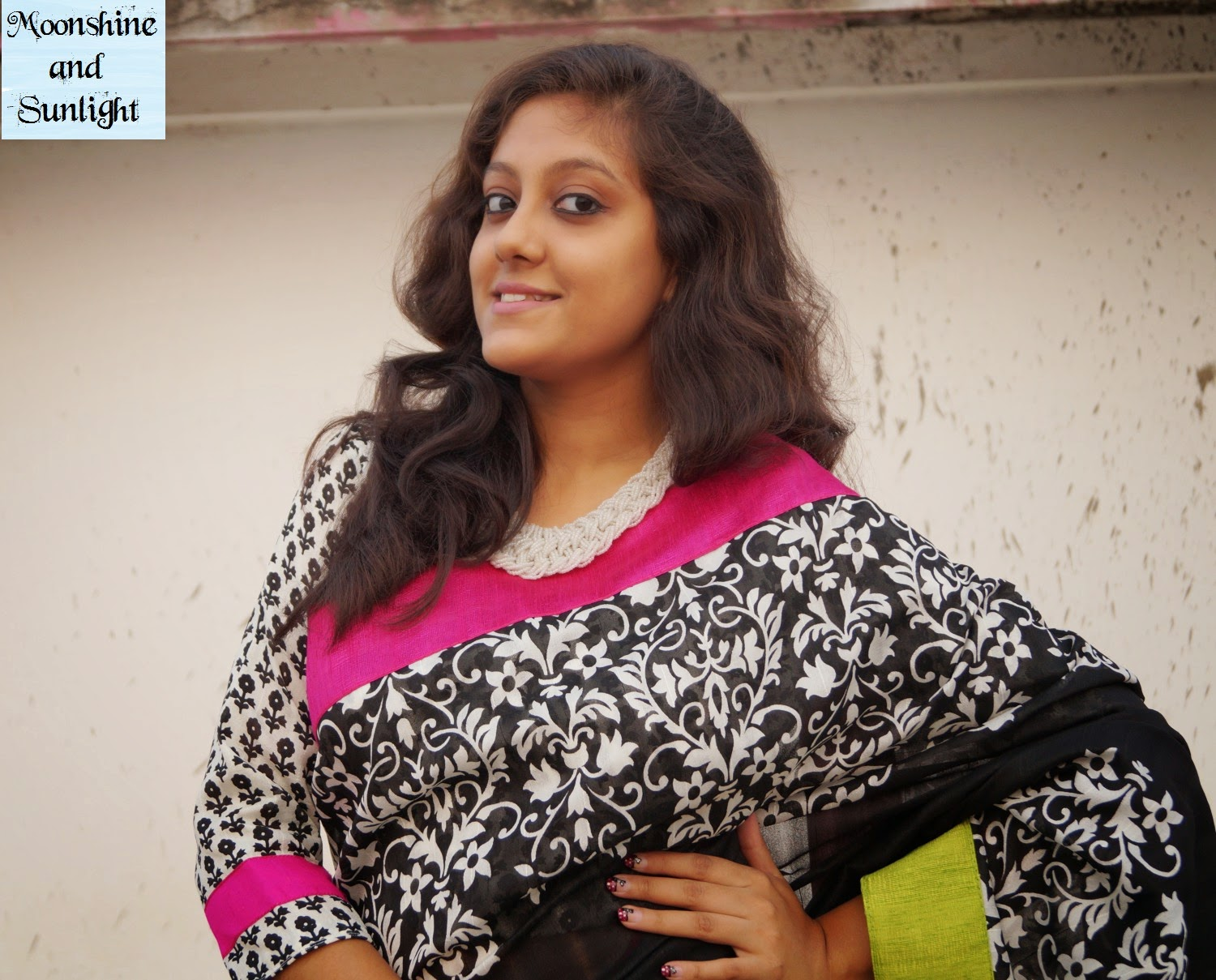 Yes! I am wearing a saree! | Sareez.com review , Indian fashion blog , Kolkata, review