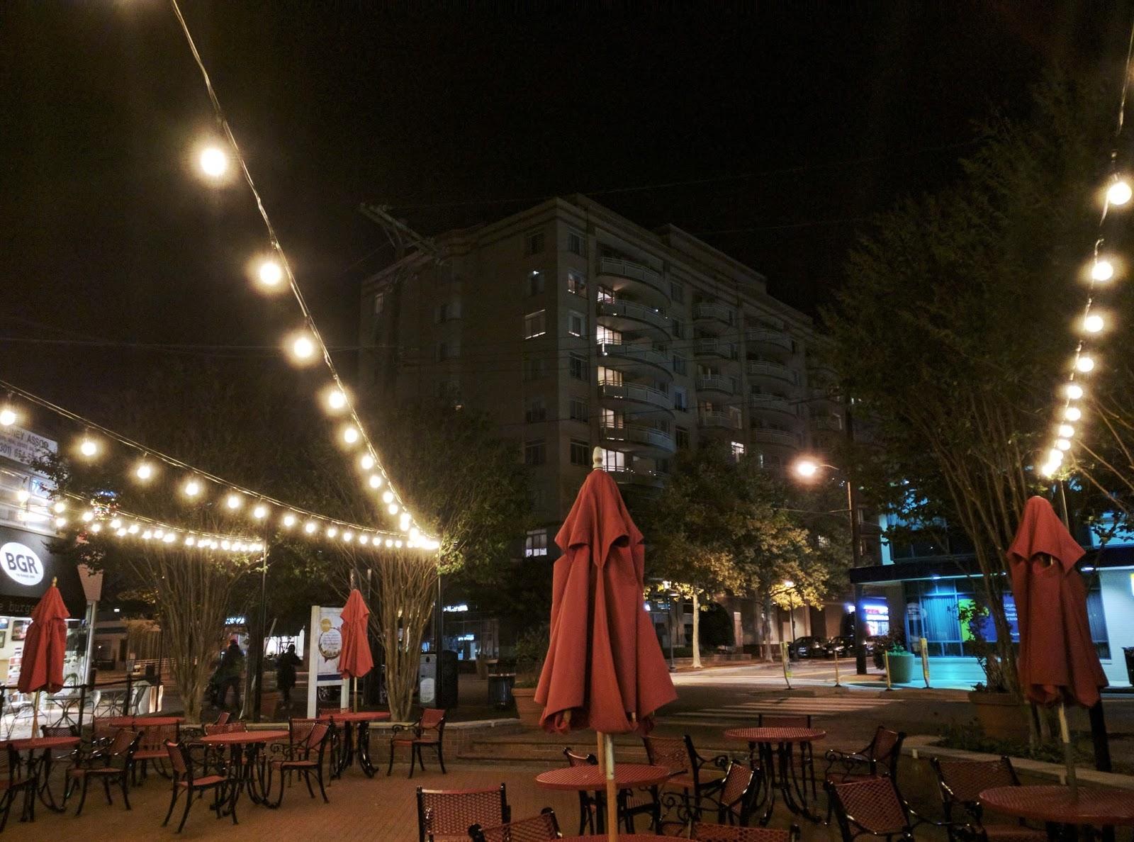 robert dyer bethesda row new lights in bethesda s veterans park
