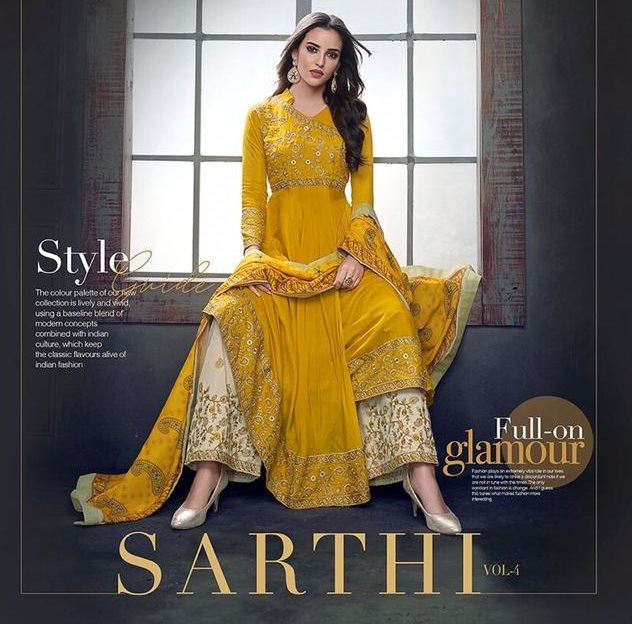 Sajawat Sarthi vol 4 Nx Stitched Salwar kameez