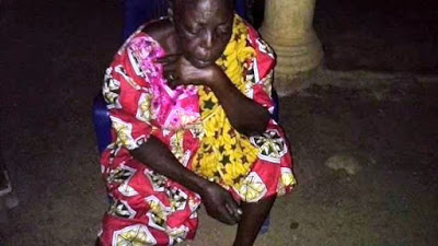 Image result for Mrs Monica Agaku, a 75-year old woman who was kidnapped