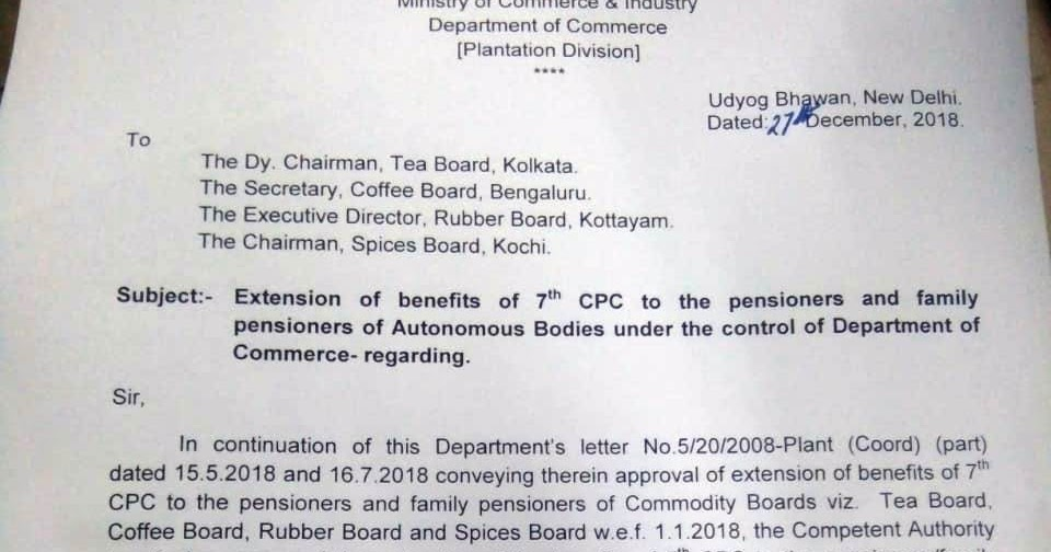 Good News For Pensioners and Family Pensioners of Autonomous