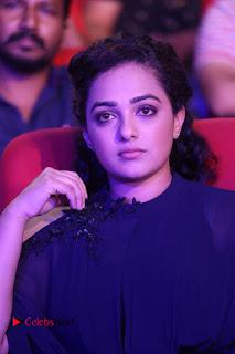 Nithya Menon Latest Stills at at Janatha Garage Movie Audio Launch  0074