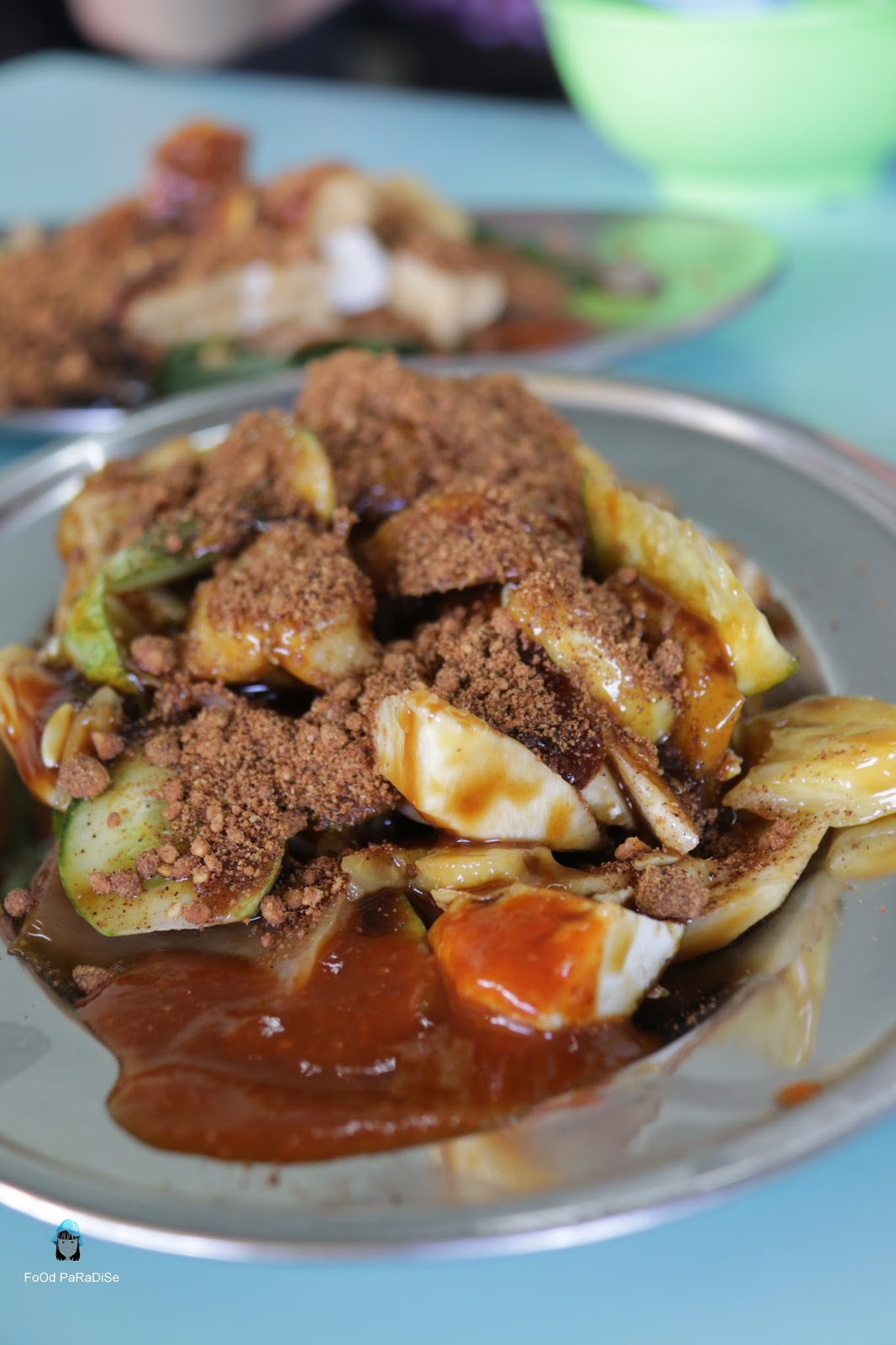Food paradise sin wan delight rojak cold drinks jalan for X cuisine miri