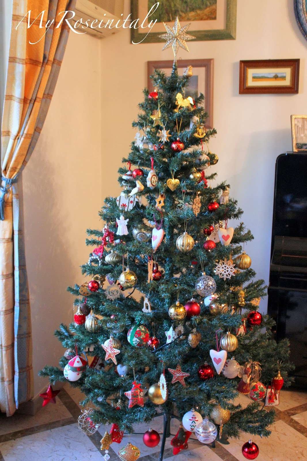My roseinitaly come fare l 39 albero di natale for Obi albero di natale
