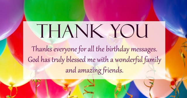Thank you message quotes greetings for birthday wishes thank you m4hsunfo