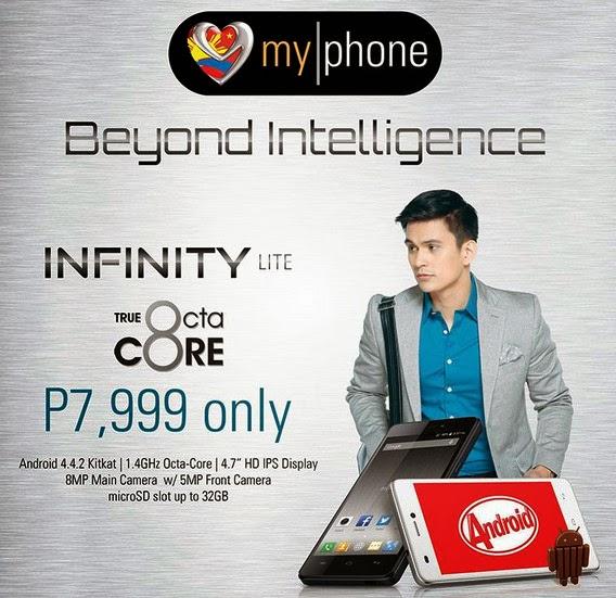 Myphone Agua Infinity Lite Price Php 7 999 Specs
