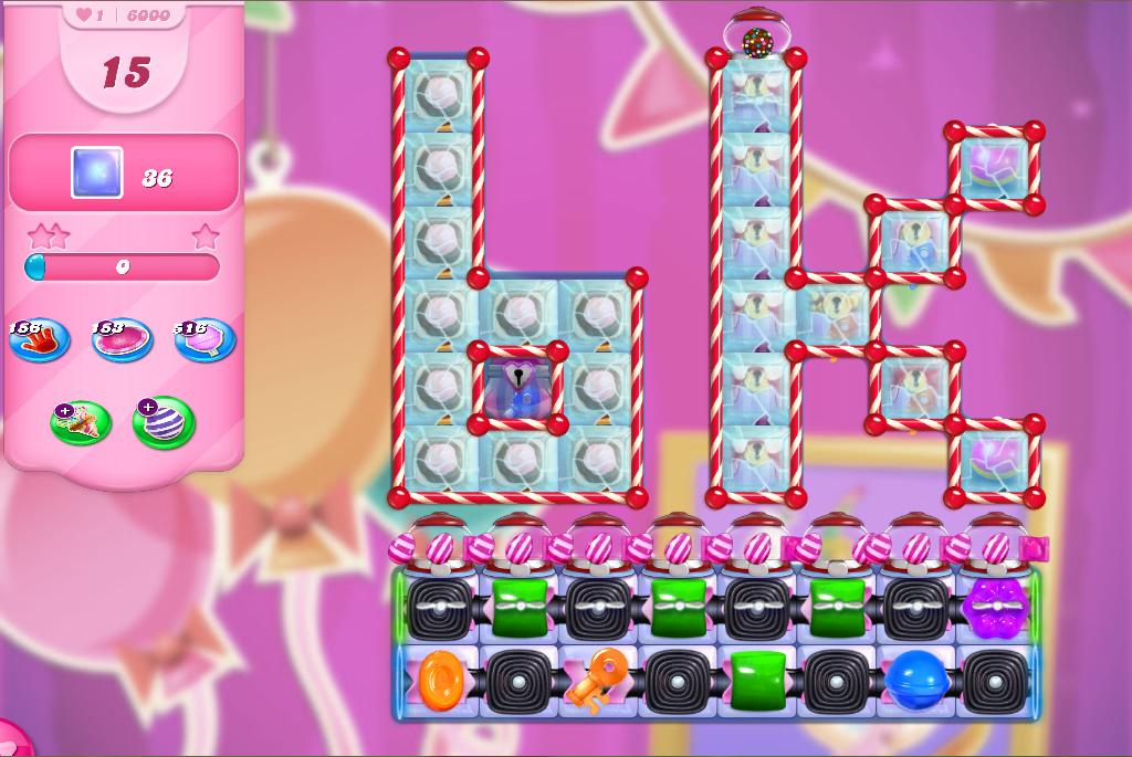 Candy Crush Saga level 6000