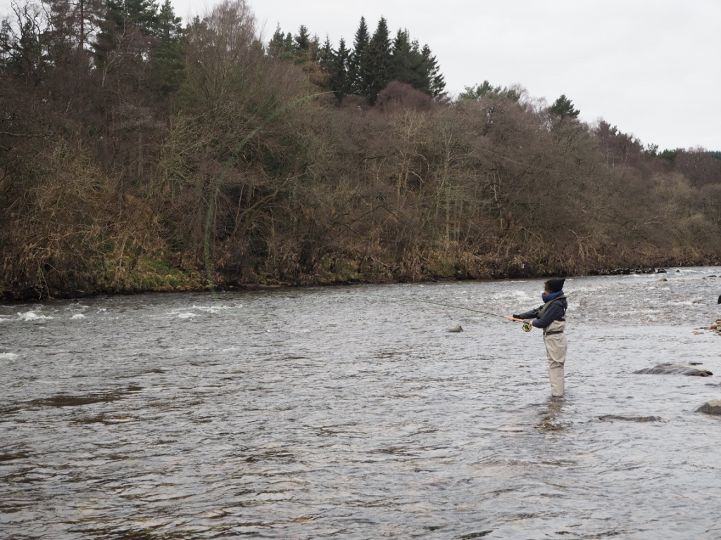 fly fishing river dee scotland cairnton estate