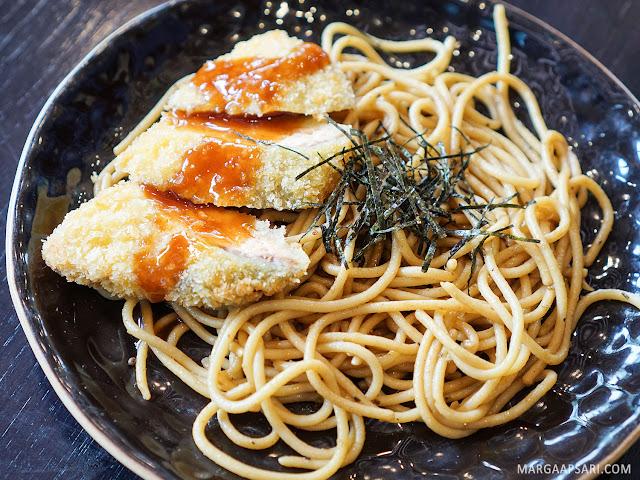 Chicken Katsu Wafu Pasta Sushi Nobu (Shabu Nobu)