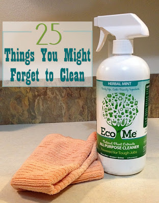 25 Things You Might Forget to Clean