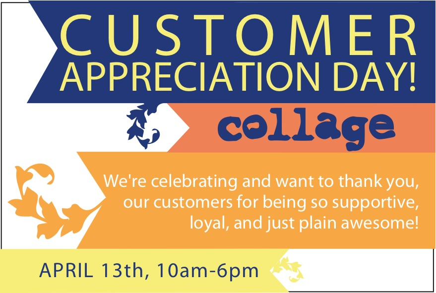 collagepdx: Customer Appreciation - 138.3KB