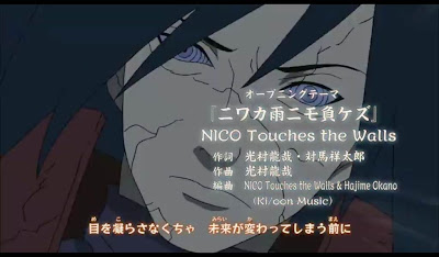 NICO Touches the Walls - Niwaka Ame ni mo Makezu narutolovindo.blogspot.com