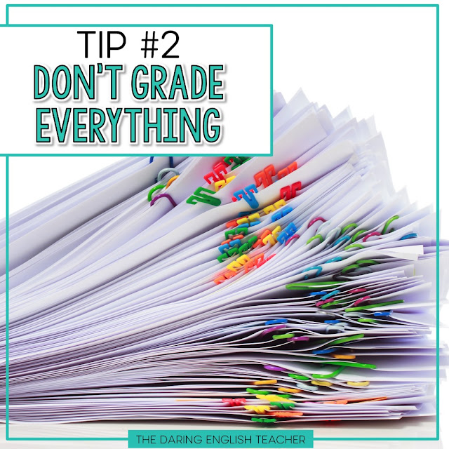 End of the year tips to help teachers save time and sanity.